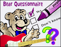 Answer Our Bear Questionnaire!