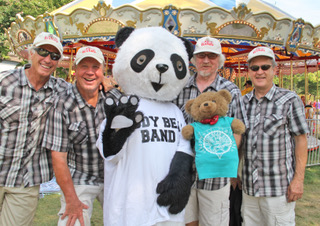 Teddy Bear Band and Panda!
